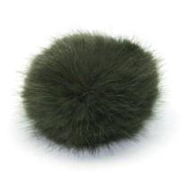 PomPom 10 cm - Oliv