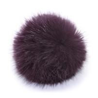 PomPom 10 cm - Aubergine