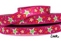 1 rulle Stars - Cerise
